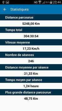 StatVélo : Statistiques du cycliste screenshot 1
