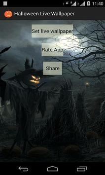 Halloween Live Wallpaper apk screenshot