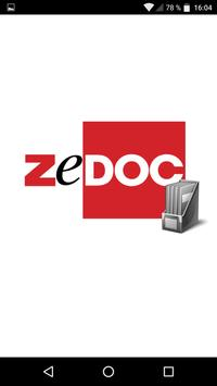 ZeDOC Net Solution Mobile poster