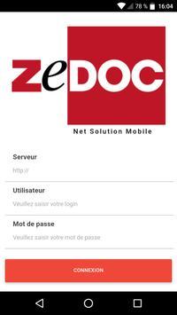 ZeDOC Net Solution Mobile screenshot 1