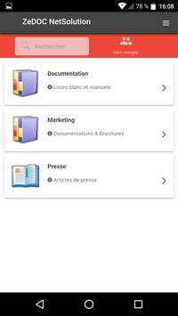 ZeDOC Net Solution Mobile screenshot 2