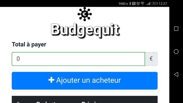 Budgequit apk screenshot