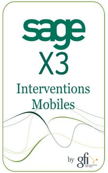 X3 Intervention Mobile poster