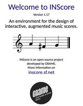 INScore poster