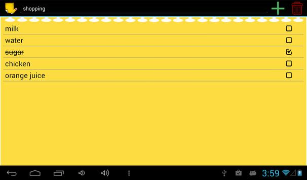 Sync note apk screenshot