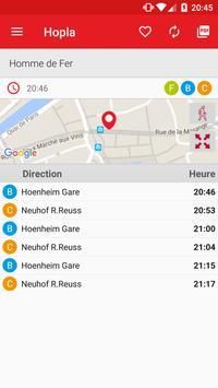 Hopla - Horaires Strasbourg apk screenshot