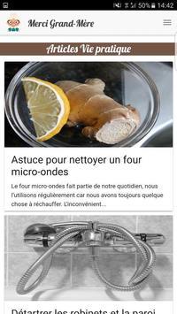 Merci Grand-Mère – Truc&Astuce apk screenshot