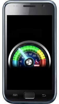 Futuristic meter battery apk screenshot
