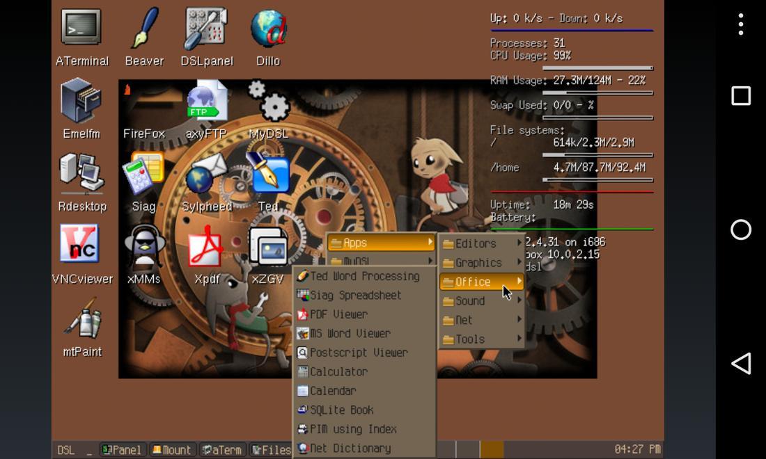 Limbo PC Emulator QEMU ARM x86 for Android - APK Download