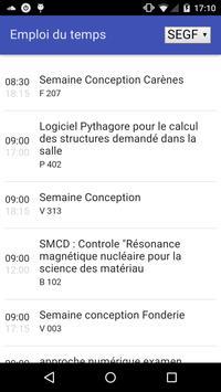 MesCours ENPC screenshot 1