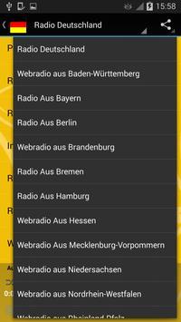 Radio Germany Region screenshot 13
