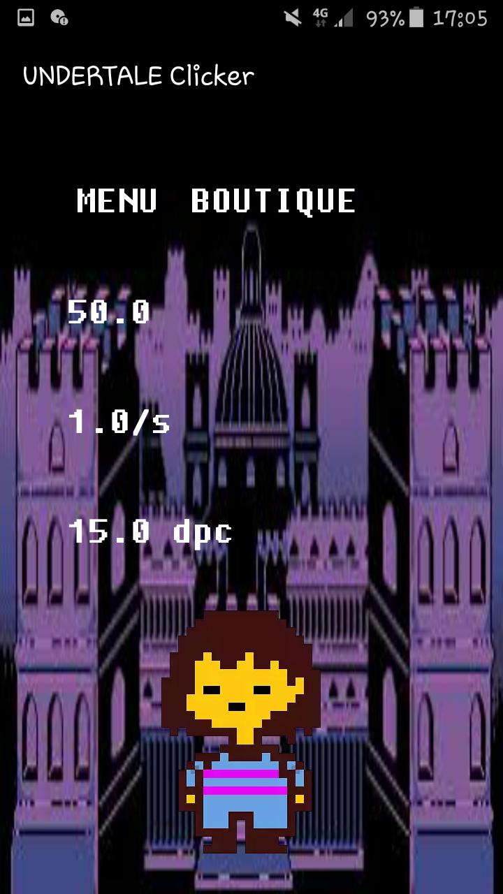 UNDERTALE Clicker for Android - APK Download