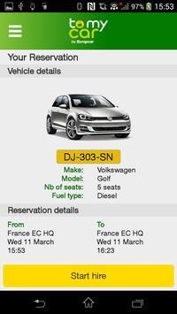 ToMyCar by Europcar poster