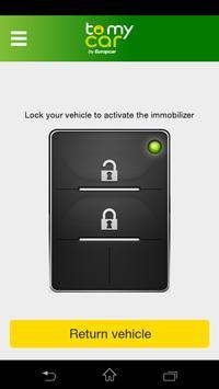 ToMyCar by Europcar screenshot 1