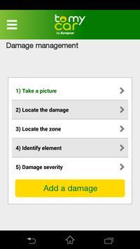 ToMyCar by Europcar screenshot 2