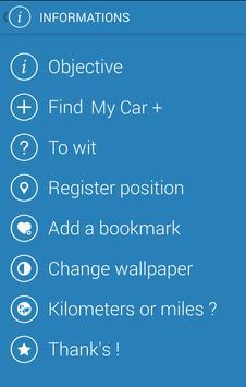 Find My Car - LabOfApp apk screenshot