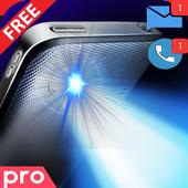 Flash Alert : Calls, SMS Pro icon