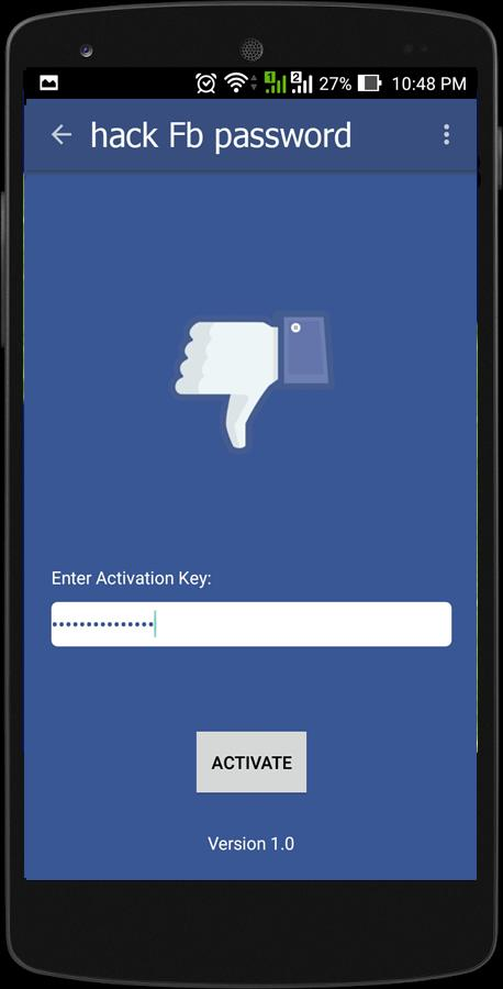 hack Fb password (prank) for Android - APK Download