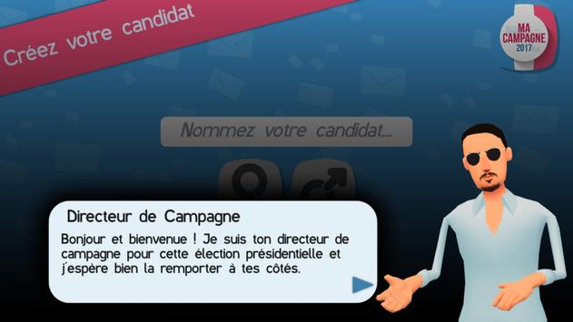 Ma campagne poster