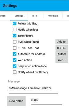 JG iTag Alarm apk screenshot