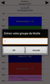 PTSI Rouen - Emploi du temps screenshot 1