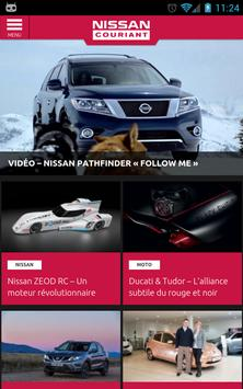 Nissan Couriant poster