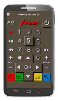 Commande Freebox V6 poster