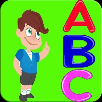 Alphabet games for kids poster
