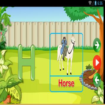 Alphabet games for kids apk screenshot