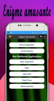 Devinettes Courtes 2018 apk screenshot