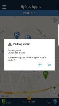 Hyères Parkings apk screenshot