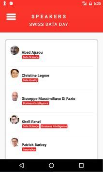 Swiss Data Day apk screenshot