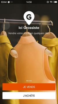 Ici Grossistes poster