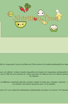 Nutrition Time apk screenshot