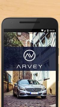Arvey - VTC & chauffeur privé poster