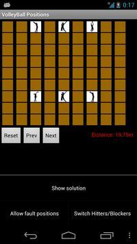 VolleyBall Positions apk screenshot