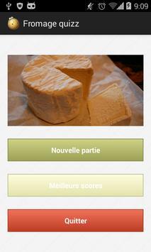 Fromage Quizz apk screenshot