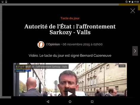 l'Opinion apk screenshot