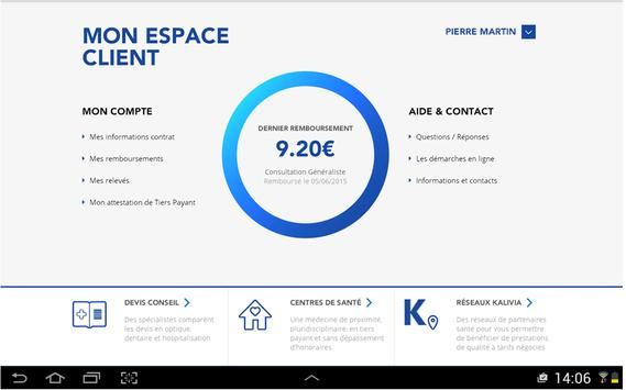 Assurance Santé Collective LBP apk screenshot