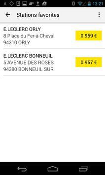 Carte carburant pro E.Leclerc apk screenshot