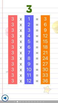 Math games for kids : times tables - AB Math screenshot 4