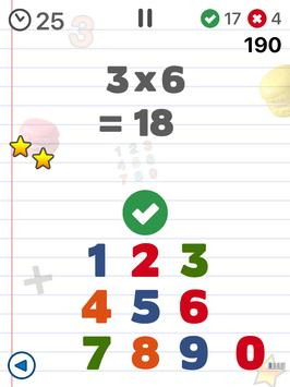 Math games for kids : times tables - AB Math تصوير الشاشة 7