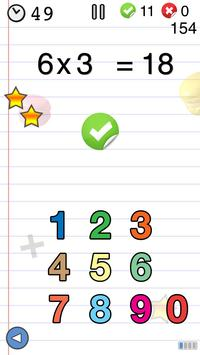 Math games for kids : times tables - AB Math poster