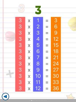 Math games for kids : times tables - AB Math screenshot 11