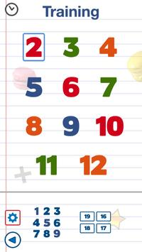 Math games for kids : times tables - AB Math screenshot 2