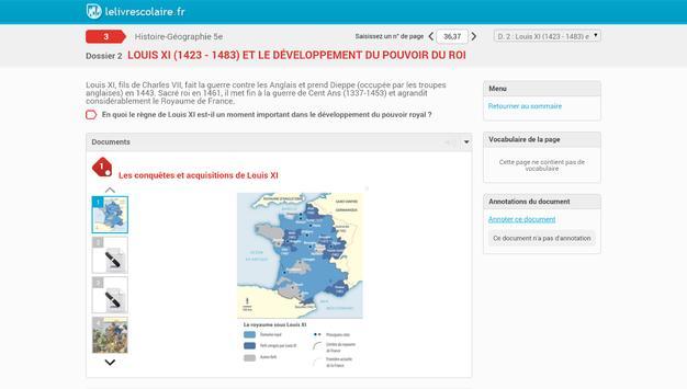 HG5 - Lelivrescolaire.fr apk screenshot