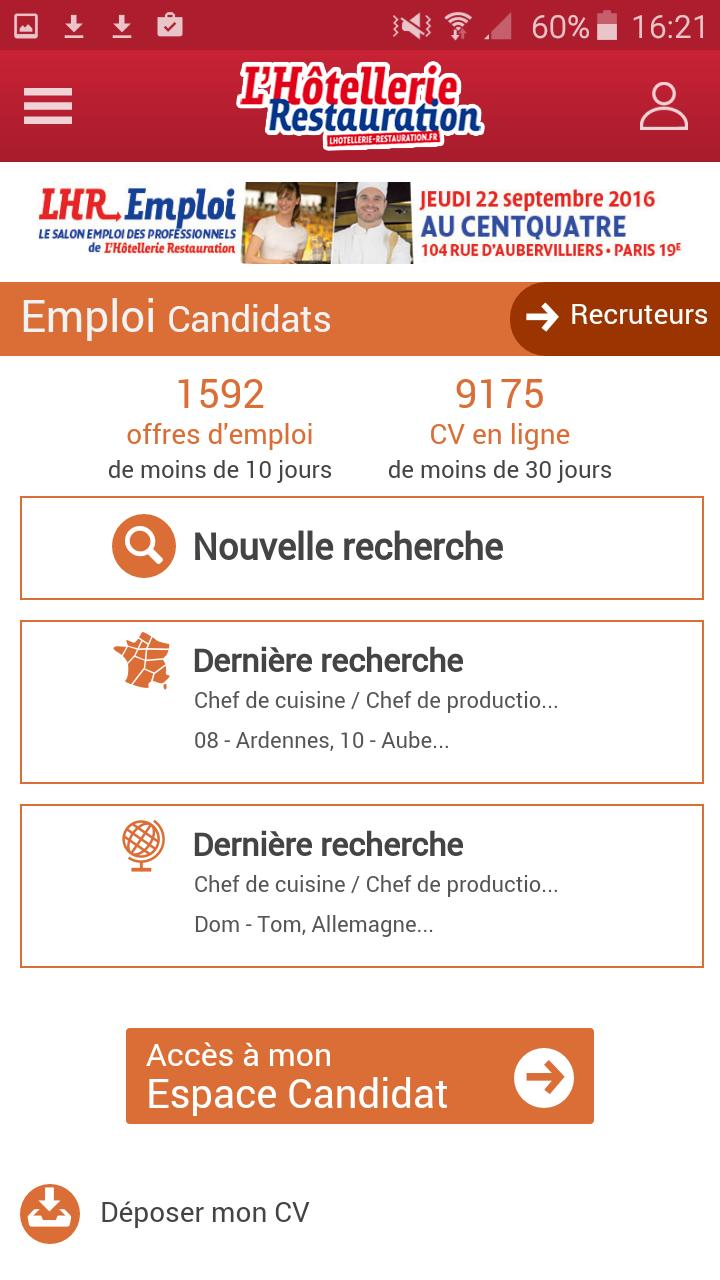 Lhr Emploi For Android Apk Download