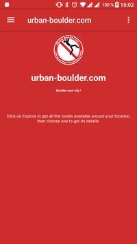 Boulder your city! poster