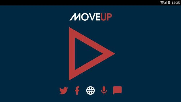 MoveUpRadio screenshot 1