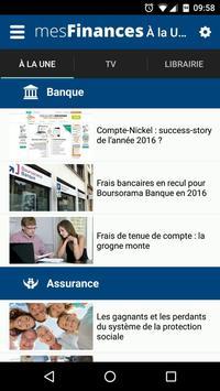 Mes Finances apk screenshot